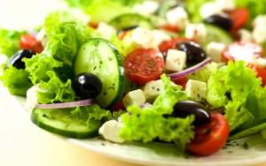 salad cho bệnh nhân cao huyết áp