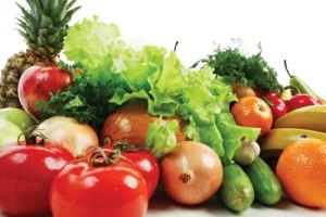Rối loạn tiền đình nên ăn rau xanh, hoa quả tươi