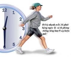 tập thể thao giảm huyết áp