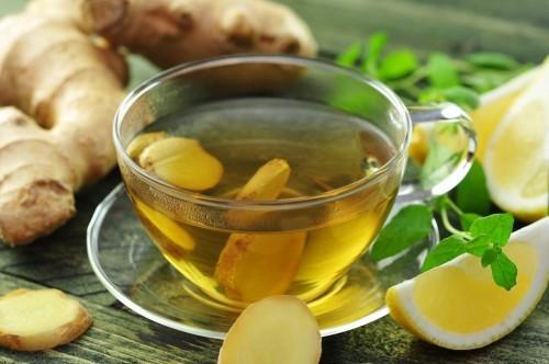 Sử dụng trà gừng để chữa huyết áp thấp tạm thời