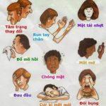 Một vài triệu chứng khi mắc bệnh huyết áp thấp