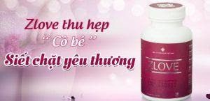 Zlove giúp se khít và làm hồng vùng kín